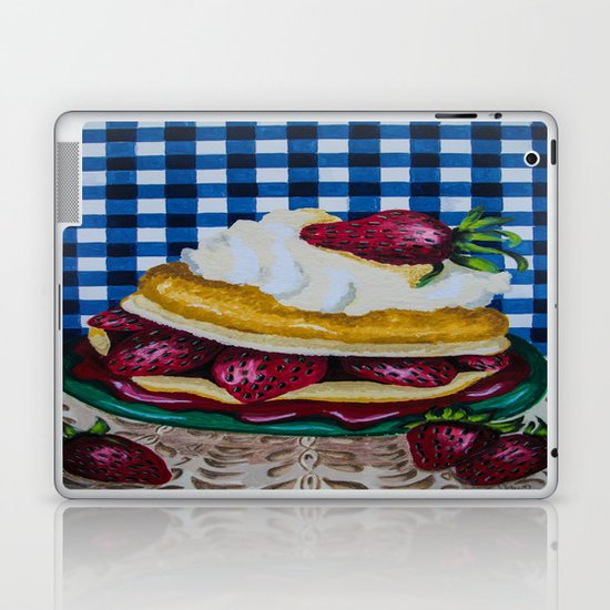 Strawberry Dreams Laptop & iPad Skin