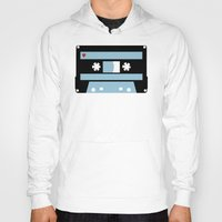 tape Hoodies featuring Love Tape by Project M