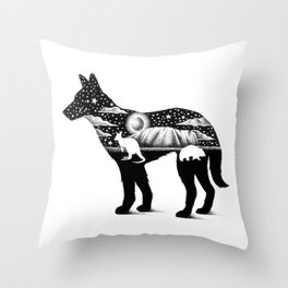 DINGO FROM DOWN UNDER Throw Pillow