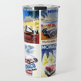 Monaco Grand Prix 1930 1966 Travel Mug