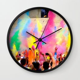 Holi Open Air Festival Berlin Wall Clock