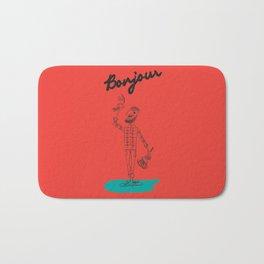 "The Ink - ""Bonjour"" Bath Mat"