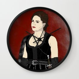 Warrior Regina Mills - Once Upon A Time Wall Clock