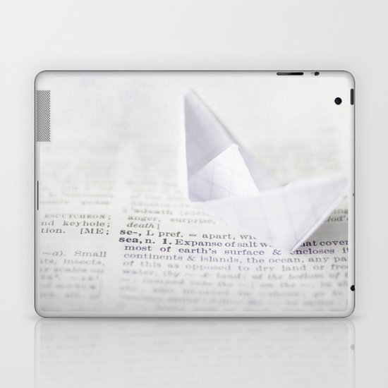at sea Laptop & iPad Skin