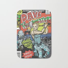 Dave Vs The Monsters Bath Mat