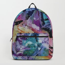 Spatter and Splash Abstract Backpack