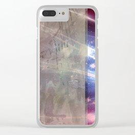 A.Ch.Sch. Design Clear iPhone Case