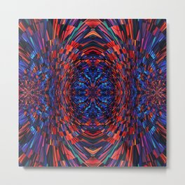Hyper Dimension Metal Print