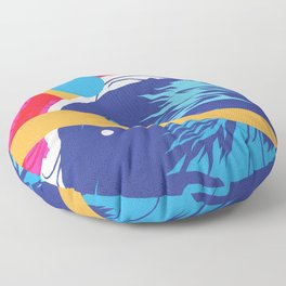 KELLY :: Memphis Design :: Saved By the Bell Series Floor Pillow