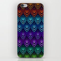 Variations on a Feather I - Deco Style iPhone & iPod Skin