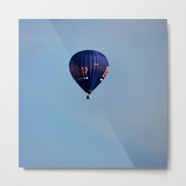 Blue air balloon Metal Print