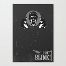 Doctor Who: Weeping Angel Canvas Print