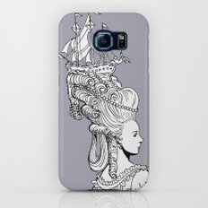 Girl With Ship Galaxy S8 Slim Case