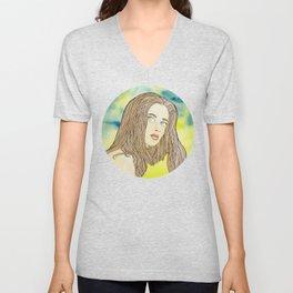 Alura Watercolor Unisex V-Neck