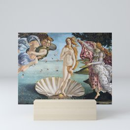 Botticelli's The Birth of Venus (High Resolution) Mini Art Print