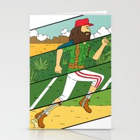 run Stationery Cards featuring Run by Derek Eads