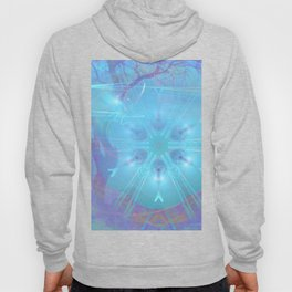 Mysterious lights in the forest Hoody