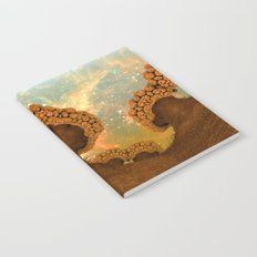 Broccoli Planet in Fall Notebook