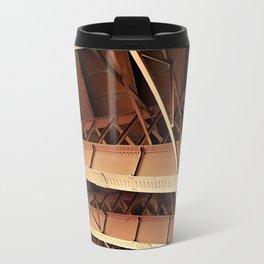 Rivets and Girders Travel Mug