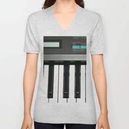 Keyboard Unisex V-Neck