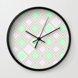 A squares game Wall Clock
