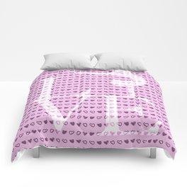 Love Gymnastics - Pink Comforters
