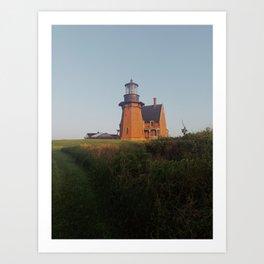 Southeast Light Block Island Art Print