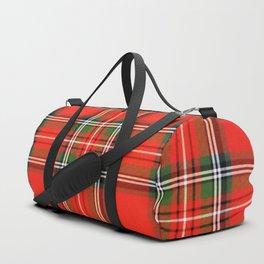 Christmas Plaid Duffle Bag
