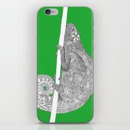 Green-Chameleon iPhone Skin