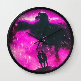 HOLD STRONG Wall Clock