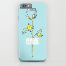 Rosewall (on blue) Slim Case iPhone 6s