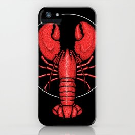 Divine Ascent of the Dominance Hierarchy Lobster iPhone Case