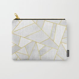 White Stone Carry-All Pouch