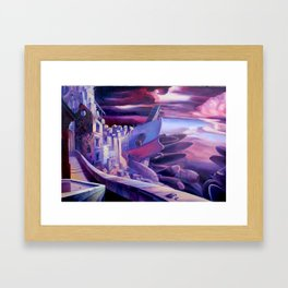The Lord of Smegma Framed Art Print