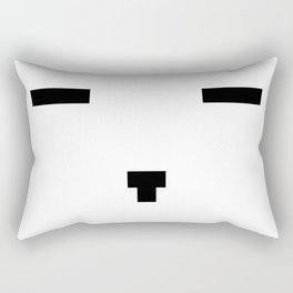 Face number two Rectangular Pillow