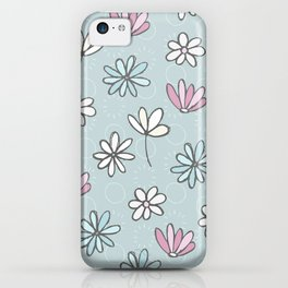 Cute Floral Ditsy Pattern iPhone Case