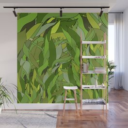 Lucky Bamboo in Porcelain Bowl Wall Mural