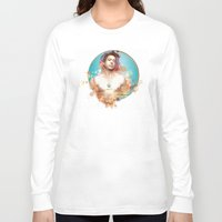 robert downey jr Long Sleeve T-shirts featuring Robert Downey Jr. by Rene Alberto