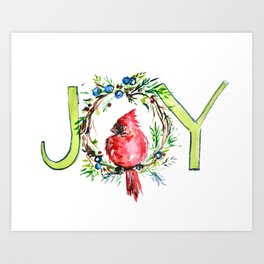Joy to The Bird Art Print