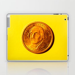 George Washinton Coin Laptop & iPad Skin
