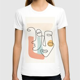 Abstract Faces 31 T-shirt