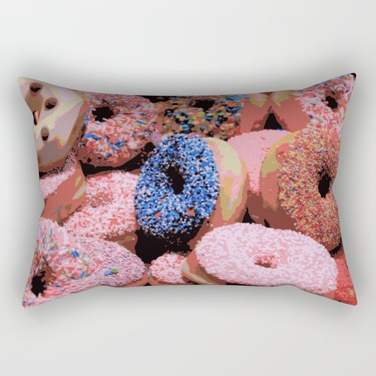 Donuts - JUSTART © Rectangular Pillow