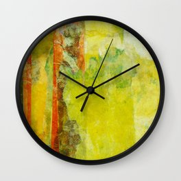 Two Gardens (1 of 2) Wall Clock