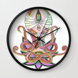 Swamipus Octopi Wall Clock
