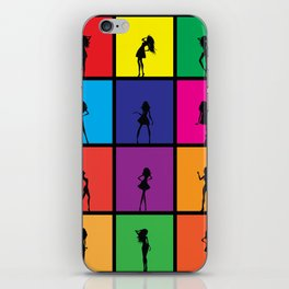 Fashion Girl iPhone Skin
