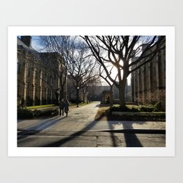 Yale New Haven Photography Art Print