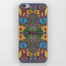 Bohemian Floral iPhone & iPod Skin