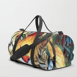 Fantazi (Tiger is Not Amused II) Duffle Bag