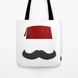 Man with a Fez Tote Bag
