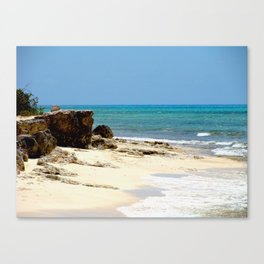 Grand Turk Beach Canvas Print